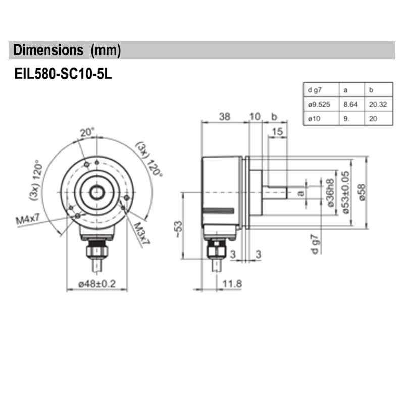 EIL580-SC10.5LE.00500.A